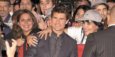 Tom Cruise: Premiere als Fan-Show