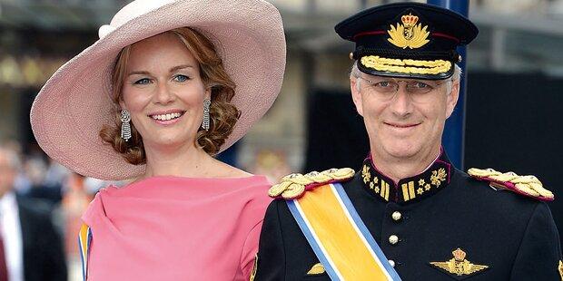 Belgische Royals in Wien