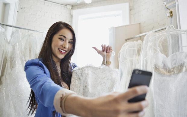Ein Brautkleid bricht Instagram-Rekorde