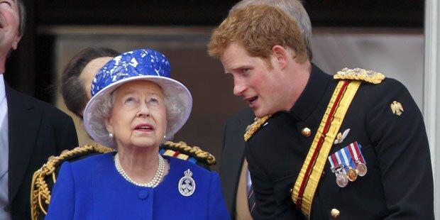 Harry: Das schenkte er Queen zum 90er