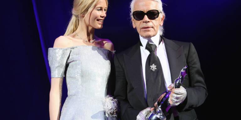 Claudia Schiffer: 'Karl war mein Feenstaub'