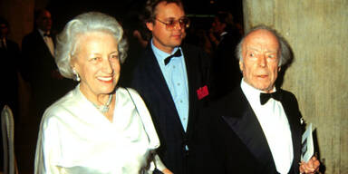 Heinz Rühmann und Ehefrau Hertha