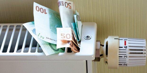 Heiz-Schock: 100 Euro mehr