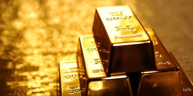 Goldpreis auf höchstem Stand seit Ende 2011