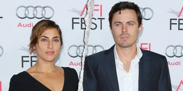 Der Oscar-Fluch! Ehe-Aus für Casey Affleck
