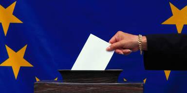 EU-Wahl Europawahl wählen Wahl Stimmzettel