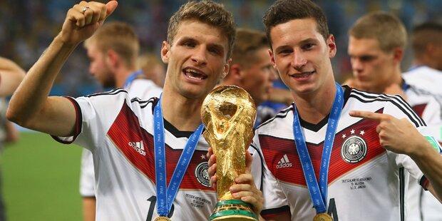 Wahnsinn: Das cashen DFB-Stars für Titel