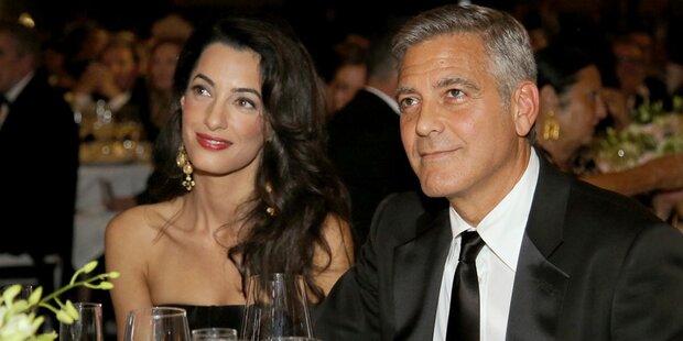Clooneys 55er: Das bekam er von Amal