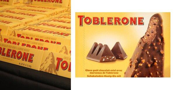 Jetzt kommt das Toblerone-Eis