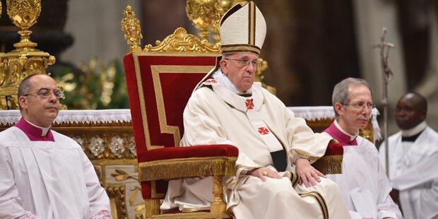 Papst-Feiern: Kein Protz zu Weihnachten