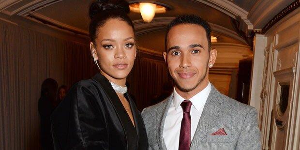 Hamilton verrät: Das läuft mit Rihanna