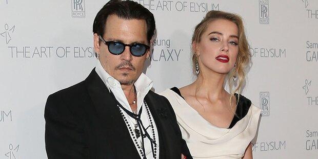 Depp & Heard: SMS Beweis für Prügel?