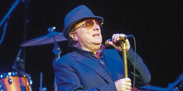 Musik-Legende Van Morrison kommt