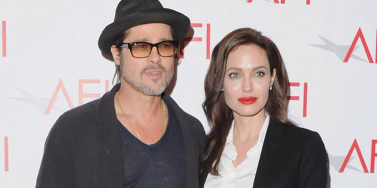 Brad Pitt schickt Jolie ins Mager-Spa