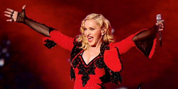 Jetzt fix! Madonna tritt beim ESC auf