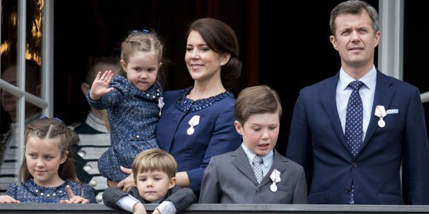 Dänischer Prinz Christian fast ertrunken