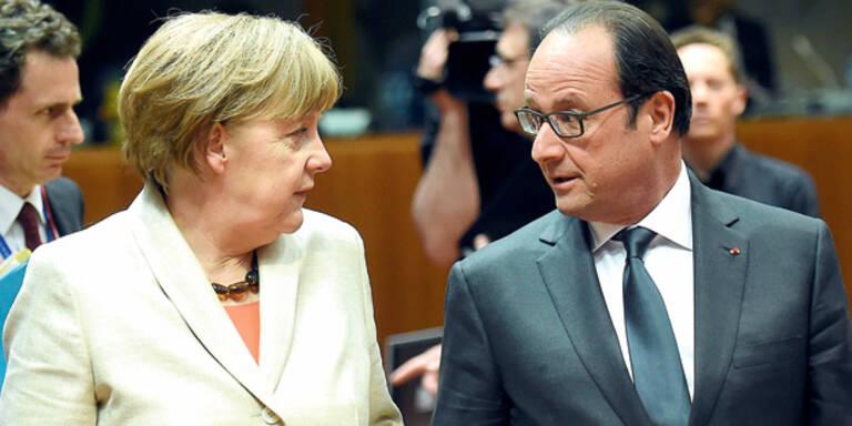 Hollande lästert über Merkel