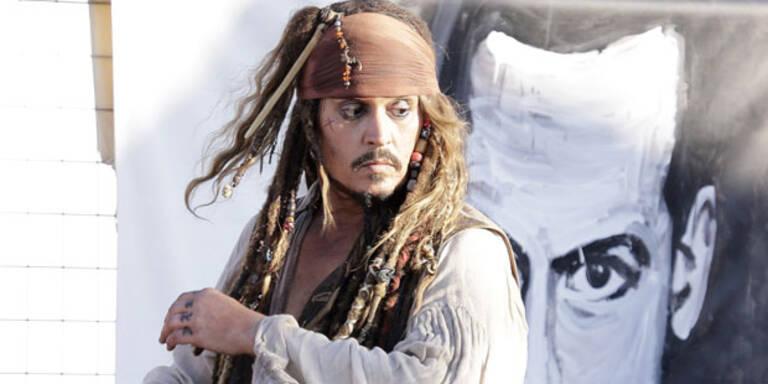Johnny Depp: Rum-Verbot beim Dreh