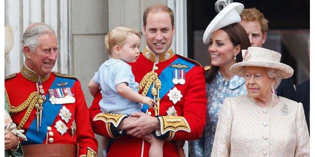 Skurrile Geschenke für Briten-Royals