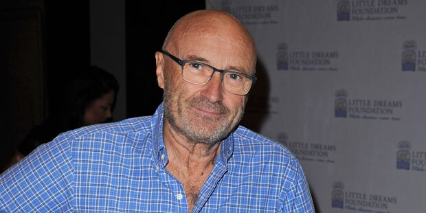 Phil Collins in Spital eingeliefert