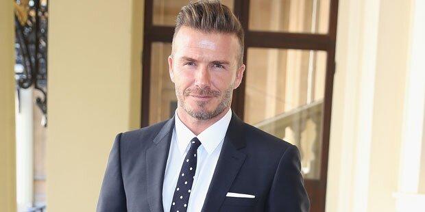 Wird Beckham der nächste James Bond?