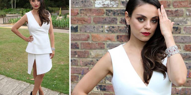 Mila Kunis zurück am Style-Parkett