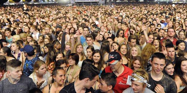 Fulminanter Start für Donauinselfest