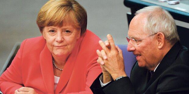 Gerücht: Schäuble folgt Merkel