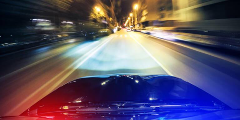 Autoknacker lieferten sich wilde Verfolgungsjagd mit Polizei