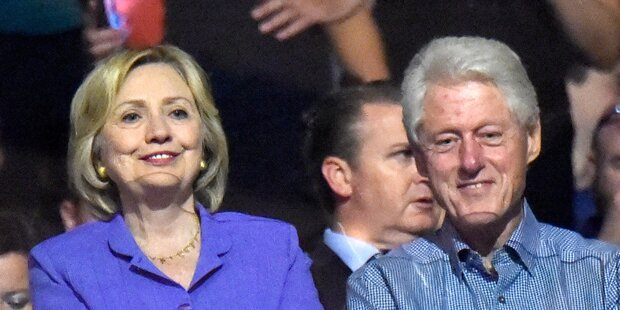 So wild trieb es Bill Clinton