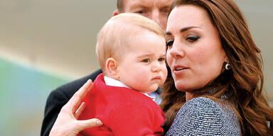 Kate: Angst um Sohn George