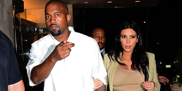 So verjagt Kim Kanye aus dem Ehebett