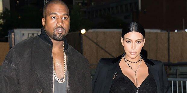 Kim & Kanye: Zoff um erstes Babyfoto