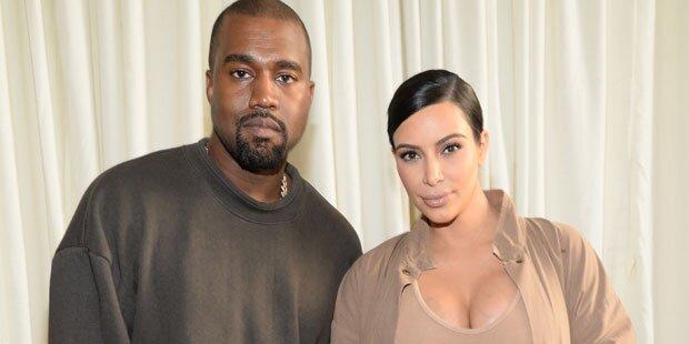 Kim Kardashian: Darum heißt ihr Sohn 'Saint'