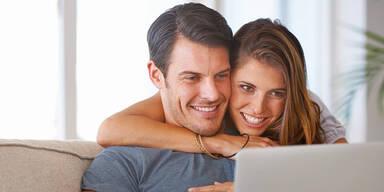 Jede(r)  Zweite findet Liebe online