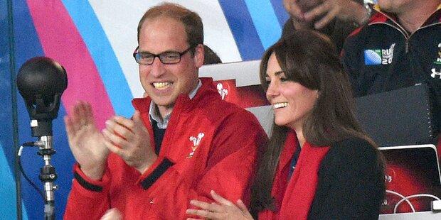 Kate nicht in Rio: Baby Nummer 3?