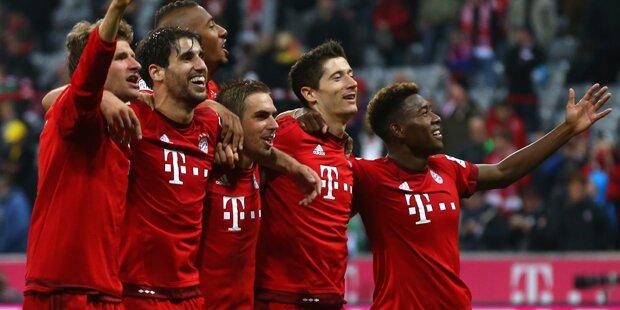 Losglück für den FC Bayern