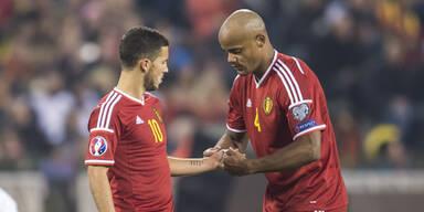 Belgien-Kapitän fällt für die Euro aus
