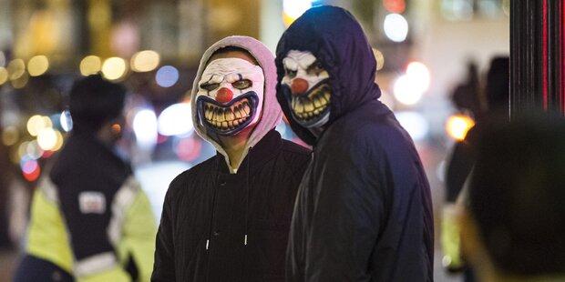 Erster Horror-Clown angezeigt