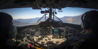 Pilot verpasst Landung  - weil er eingeschlafen ist