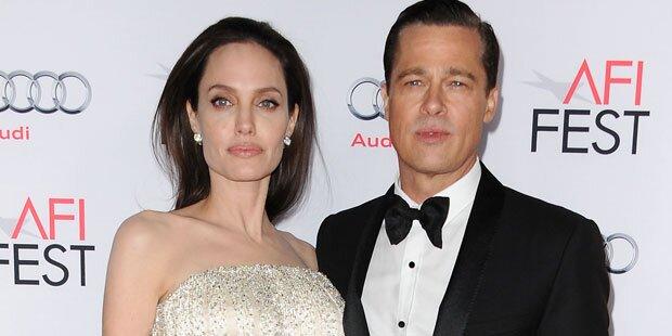 Pitt & Jolie: Krise wegen Nanny