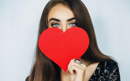 Verschicken Sie Valentinsgrüße!