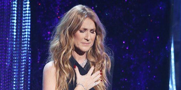 Celine Dion wieder auf der Bühne