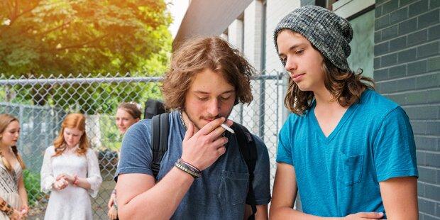 Generelles Rauchverbot an Schulen bereits in Kraft