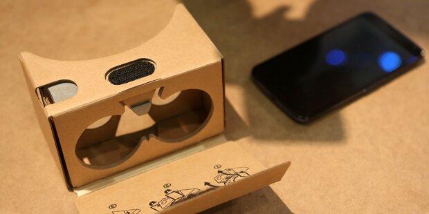 Google integriert Virtuelle-Realität in Android