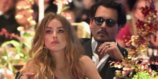 Johnny Depp: Amber ist