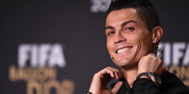 Ronaldo hält sich für ein
