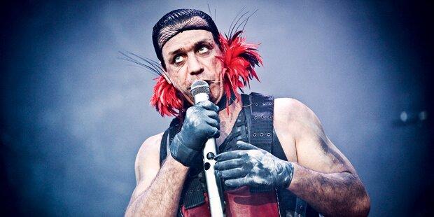 Rammstein mit Mega Pyro-Show
