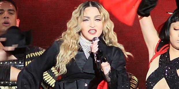 Madonna: Sturz vom Dreirad war Fake