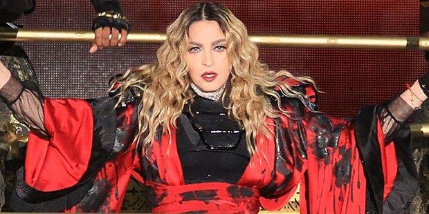 Madonna ist völlig am Ende